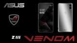 В Сети появились фото и видео концептуального игрового смартфона ASUS Z3 Venom